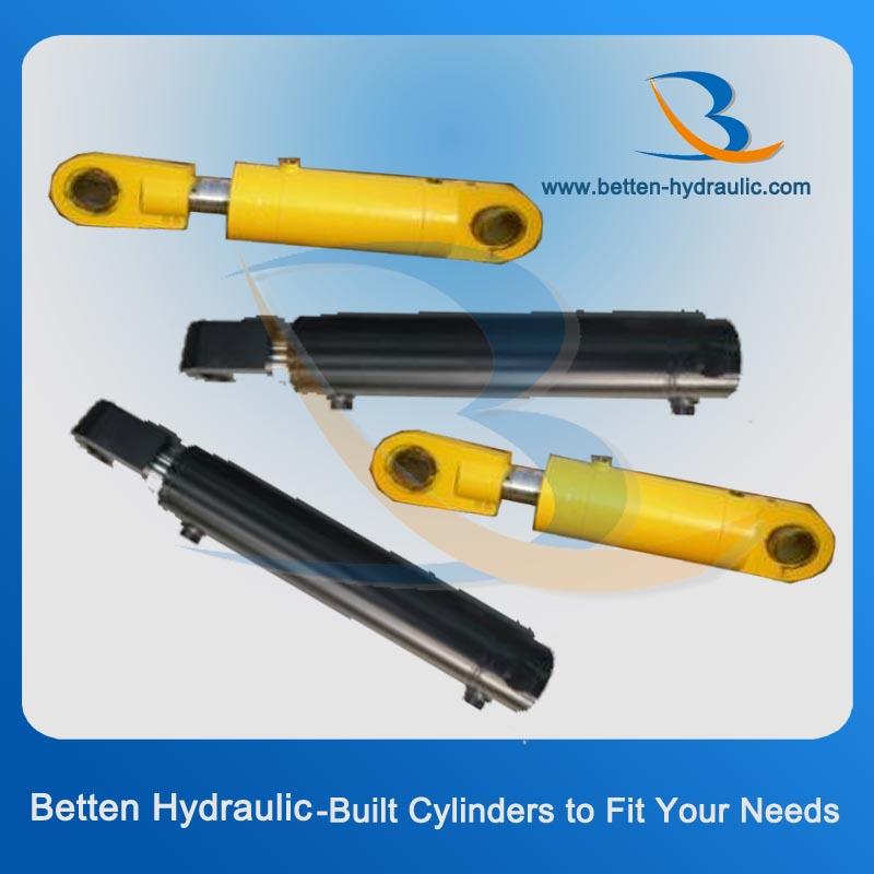 Two way piston electric over hydraulic cylinder