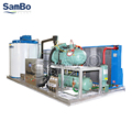 SamBo CE Certificate Industrial Air Cooled Ice Plant 10 Ton Snow Flake Ice Machine