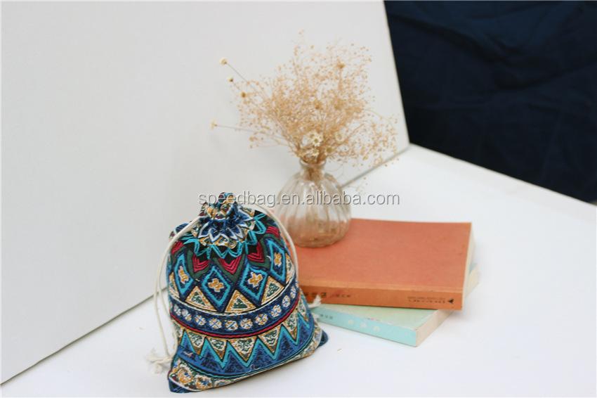 ea3f4e38df Cute coffee bean bag canvas drawstring bag small pouch mini drawstring pouch