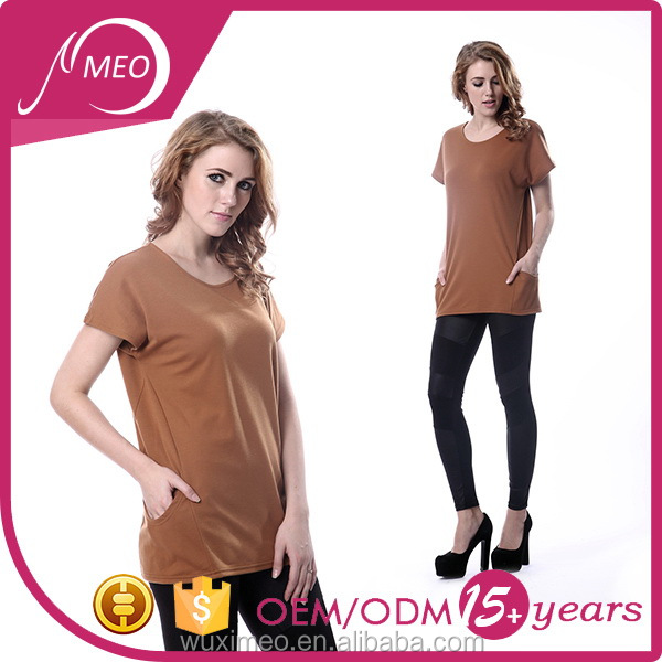 Most popular hot sale lady short sleeve dri fit t shirt