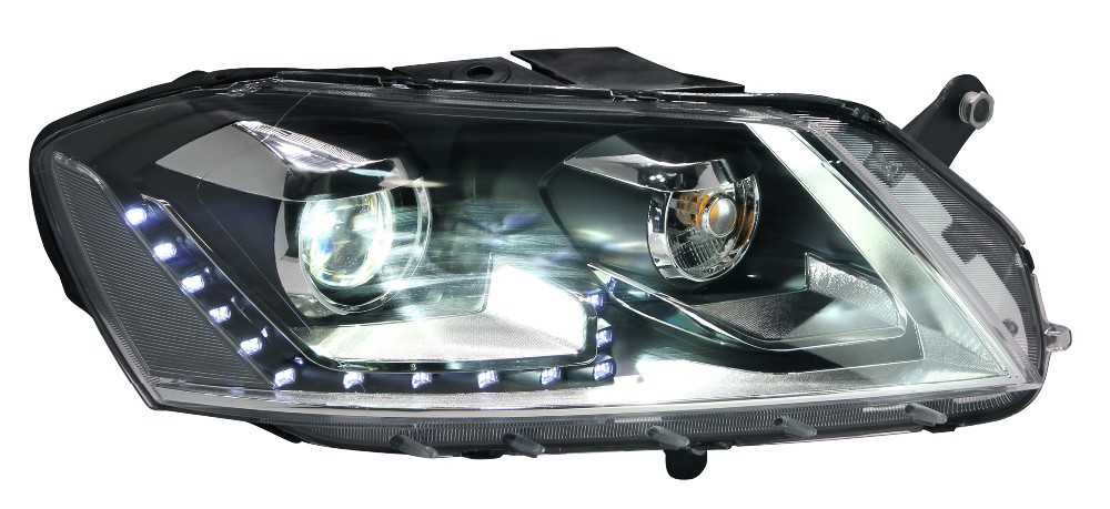 CE ISO9001 certification led replacement aftermarket headlight for volkswagen Magotan 1v 2012-2013