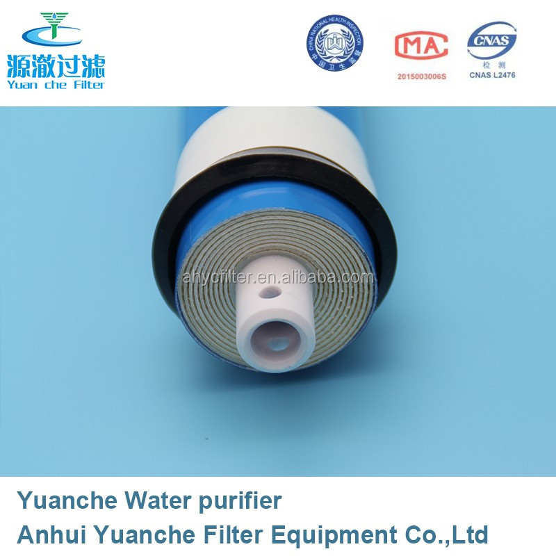 facrtory price electroplating water treatment reverse osmosis membrane 100 gpd for ro system