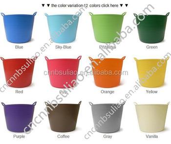 Plastic Tub Trugs, Medium Buckets ,Garden Buckets