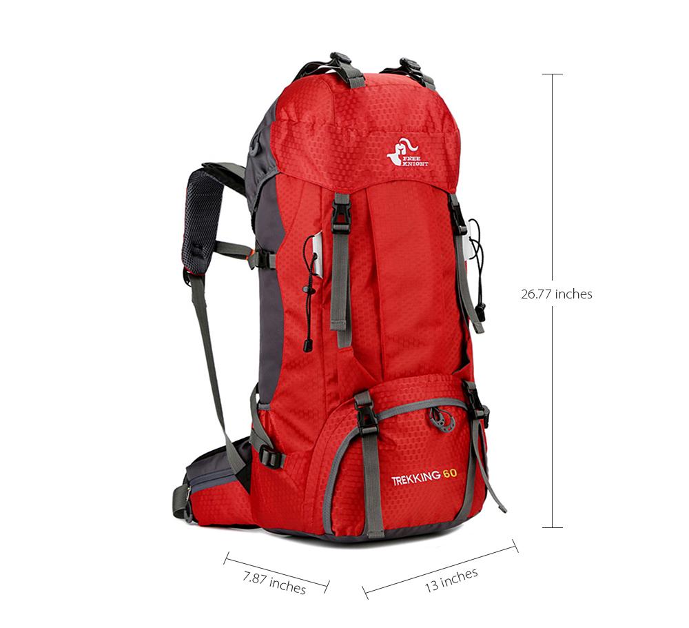 2f93bba0d 60L Camping senderismo mochilas para escalada viajar mochila deporte al  aire libre resistente al agua con