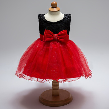 Amazon 2017 Nice Top Designs Dresses Girls Party Tutu Dress For Kids