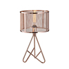 Zhongshan wholesale lighting home Decorative energy saving 40W metal rose gold table lamp