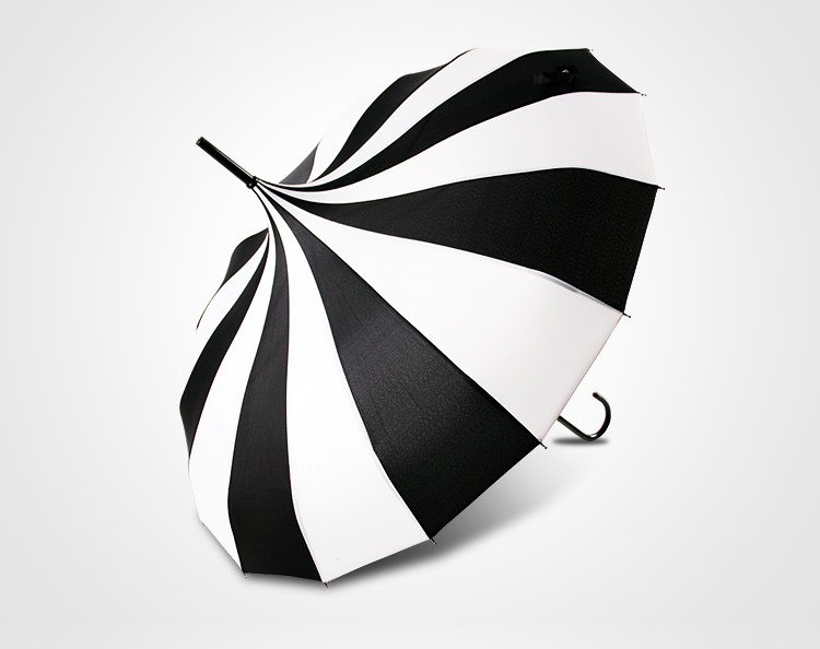 uv50+ sun pagoda parasol straight umbrella