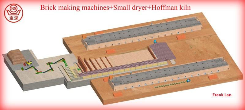 2020 Best quality mud brick machinery clay brick making line