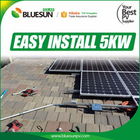 Bluesun advanced design solar power system off grid solar system 5kw for home