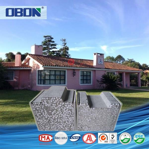 OBON low cost fast and quick installation prefabricated house wall panels
