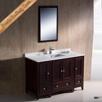FED-1069 48 inch selling well single sink cherry finishing modern bathroom furniture