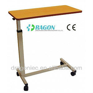 hospital bed tray table used hospital overbed table - buy hospital