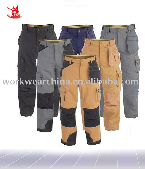Mens Holster Work Pants With Knee Pads