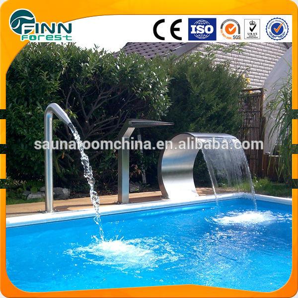 Chorros para piscinas finest cascadas y chorros de agua for Chorros para piscinas