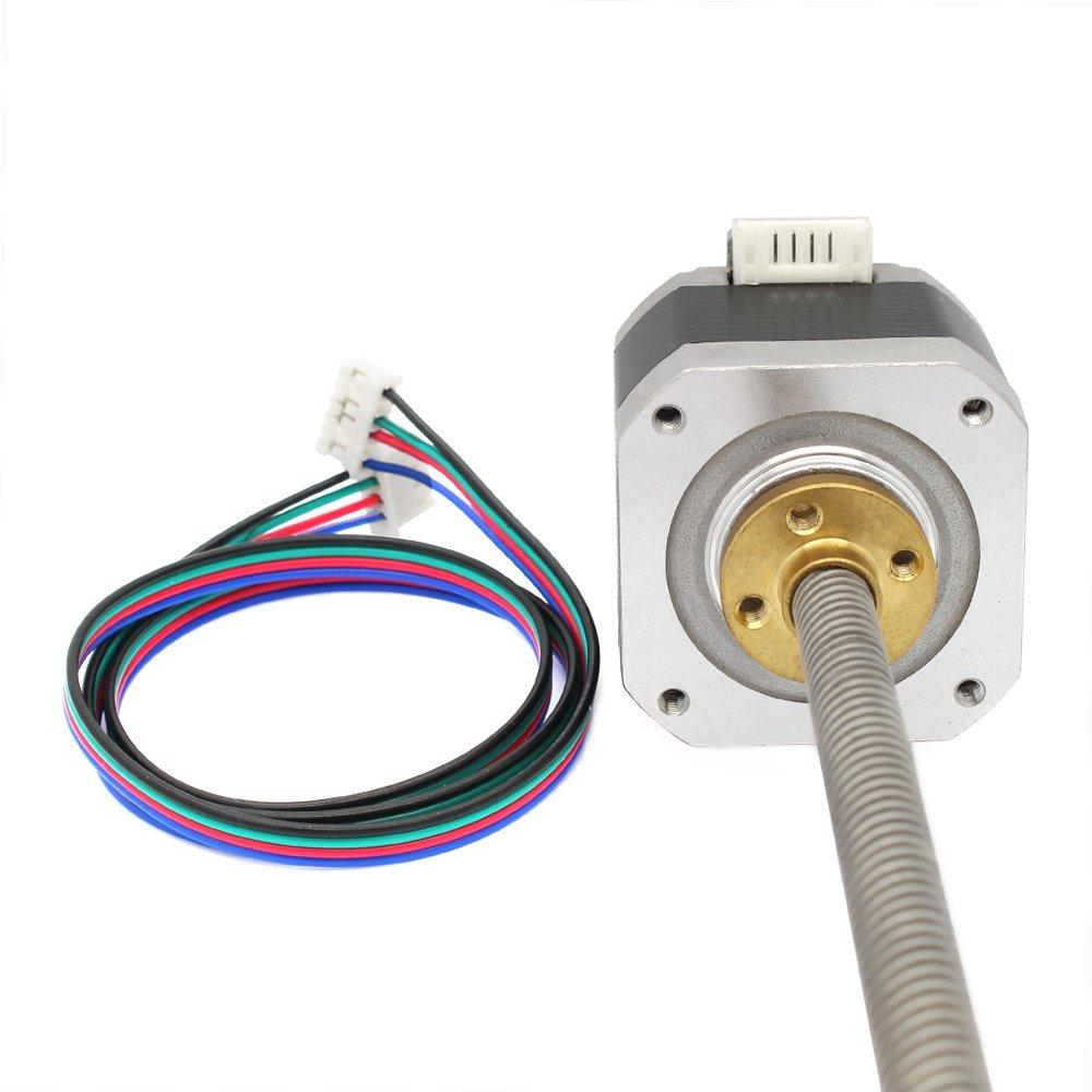 For 3D Printer CNC Mill Router 300mm Lead Screw NEMA 17 Stepper Motor Prusa New