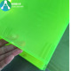 2mm transparent green plastic PVC sheet for printing Transmitters Labels