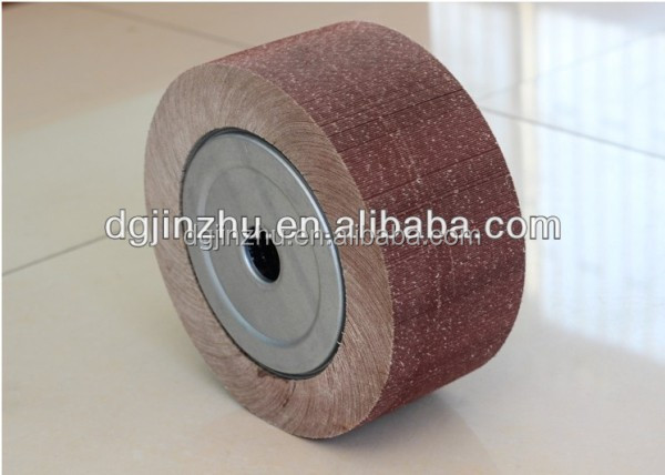 abrasive flap metal grinding wheel for carbon steel polishing