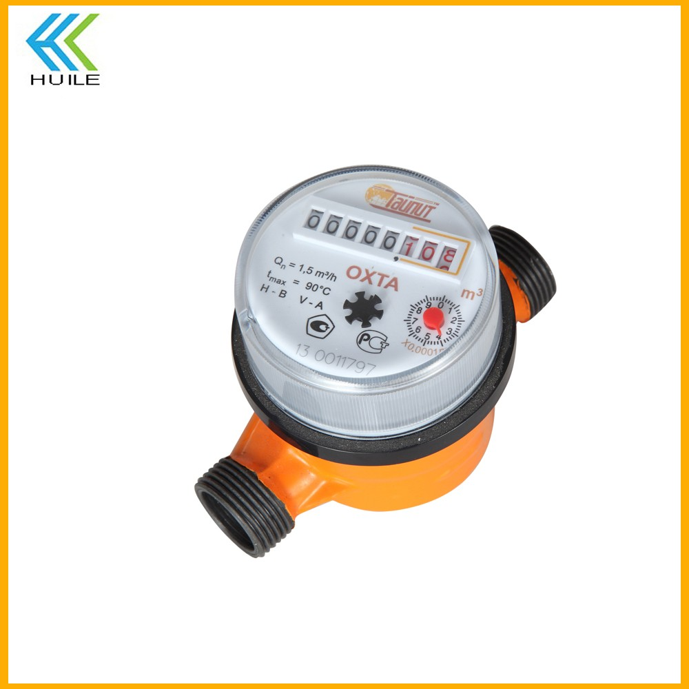 single jet cold or hot mechanism cabinet water meter