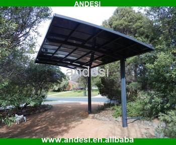 Aluminum glass roof canopy car porch awning buy canopy for Carport aluminium glas
