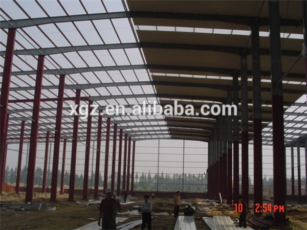 construction steel structure workshop painting sheds