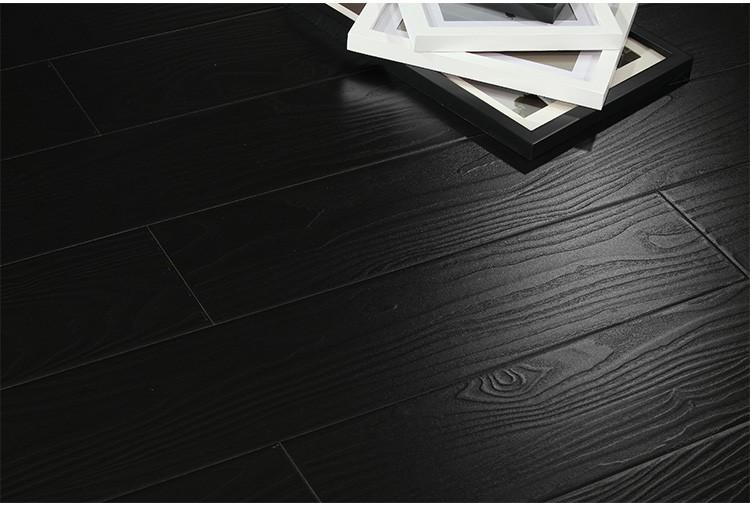 Black U Groove 12mm Hdf Wood Laminate