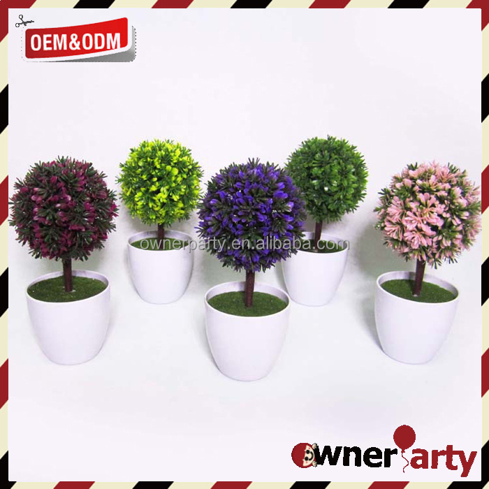 Home/Office Decoration Hot Sale Mini Potted Artificial Plant