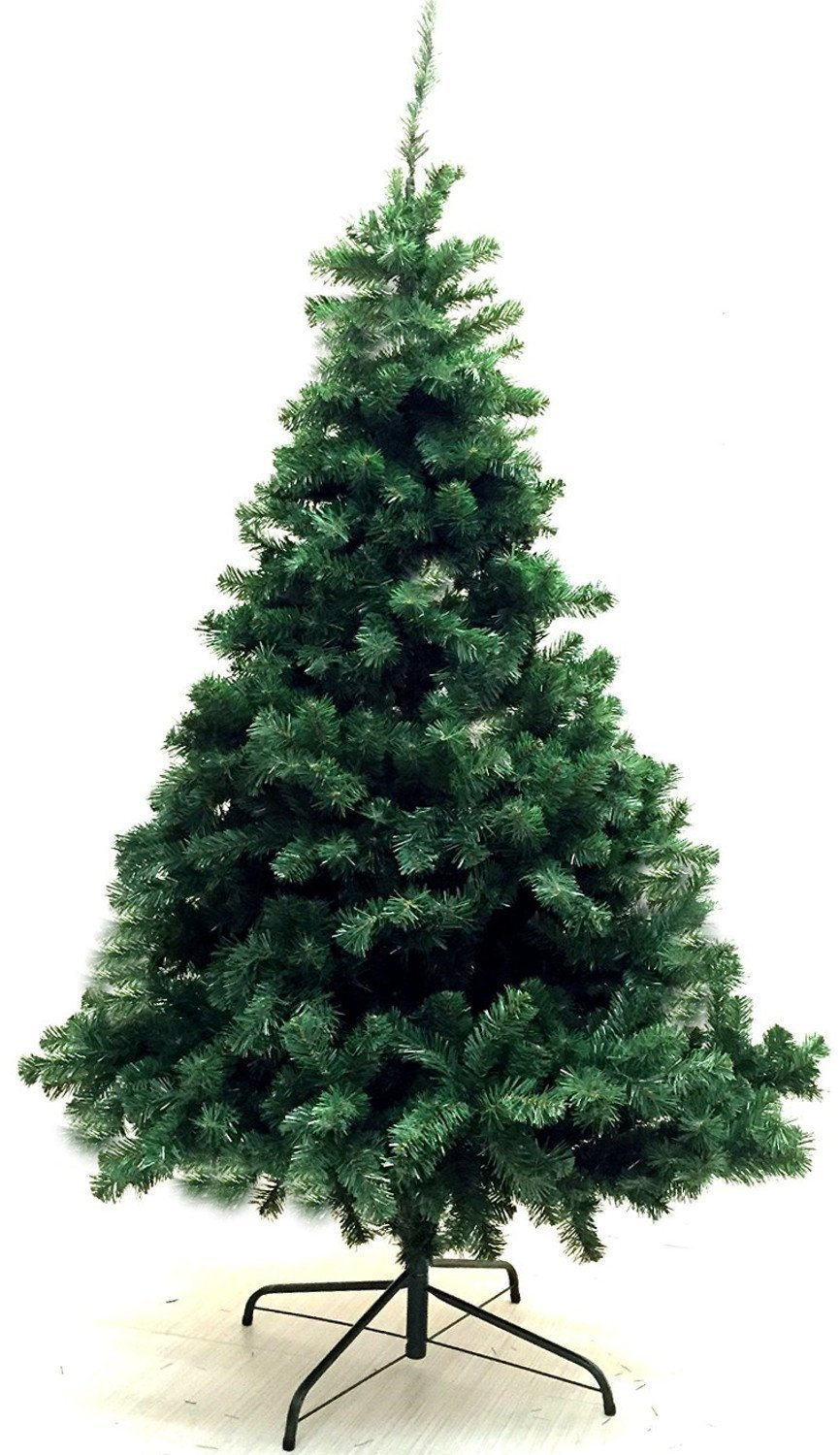 eco friendly 6 feet artificial charlie pine christmas tree with metal legs fullest