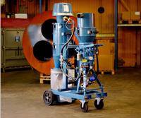 vacuum sand blasting machine/water sand blasting/rust remover machine