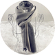 2018 New Custom Cotton Casual Neutral Blanket Scarf Shawl for Men