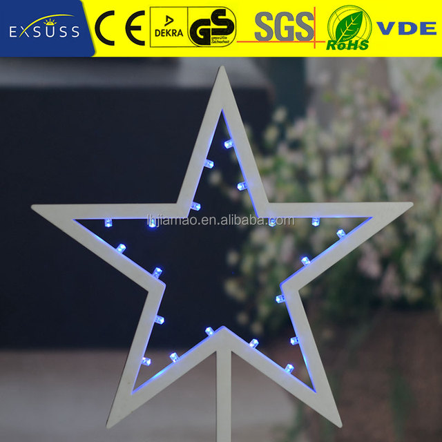 Five Pointed Star Shape Christmas Lights Outdoor