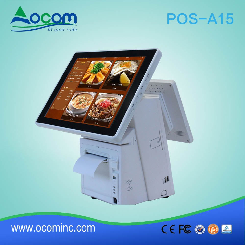 POS-A15 China Factory Android Pos Machine with Touch Screen for Restaurant