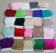 Wholesale 10-15cm Dyed Ostrich Feather Trim Feather Fabric Material
