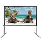 100 inch lightweight mobile wholesale fast folding projector screen for movie