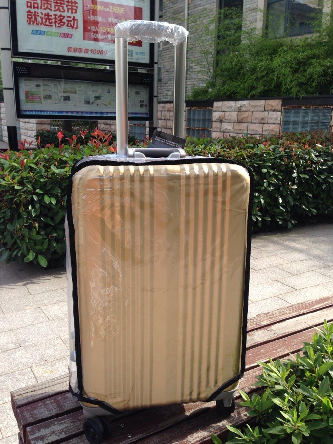 PVC Luggage Cover Transparent Protective Cover