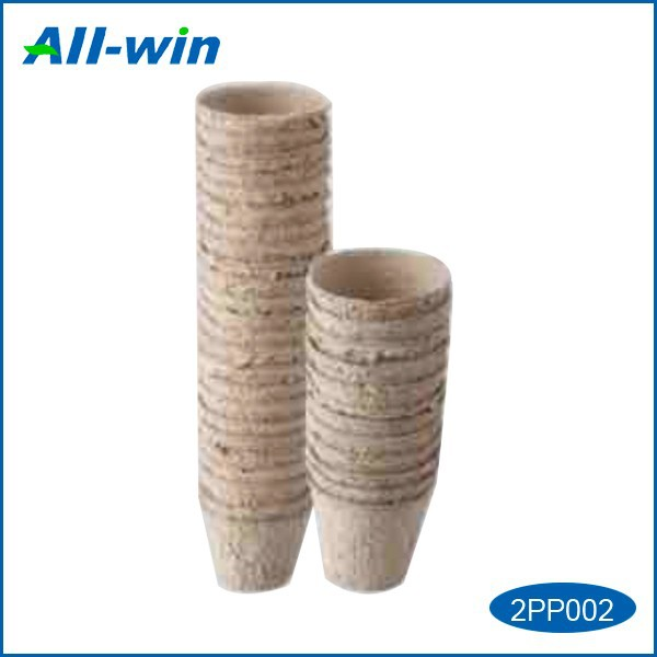 paper pulp garden peat pots for plant growing