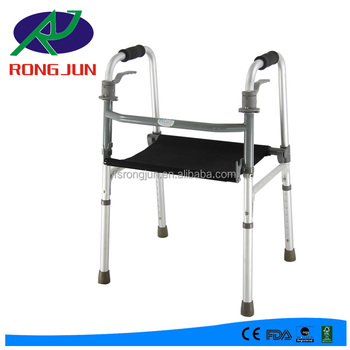 Pleasant Foilding Orthopedic Walker With Seat And Height Adjustable Sit To Stand Learning Disabled Walker Rj Z911L Buy Adult Walker With Seat Aluminum Bralicious Painted Fabric Chair Ideas Braliciousco