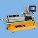 Benchtop small lab twin screw extruder / PLC control