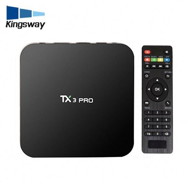 2017 new TX3 pro S905X Albanian channels quad core wifi android tamil tv box mini pc stream smart tv box