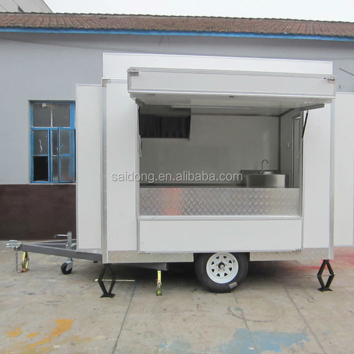 Newest Cart Mobile Coffee Cart Mobile Coffee Trailer