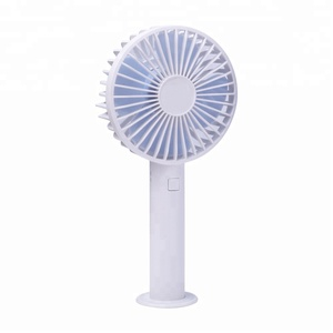 Handheld Portable Mini Fan with Rechargeable Lithium Ion Battery for Sport Games Travel Stroller Outdoor Cooling