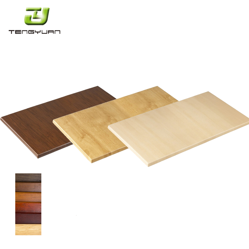 Whole Commercial Wooden Cafe Dining Tables Top For Restaurant Table Tops