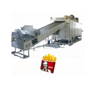 HG 1000kg frozen potato chips production line of food processing machine in china