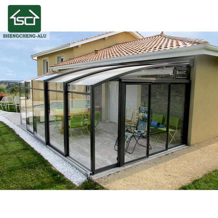 Custom Design Gewölbte Aluminiumlegierung Verwendet Lowes Veranda ...