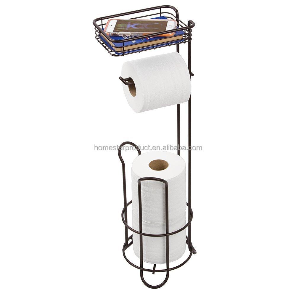 Freistehenden Toilettenpapierhalter Für Badezimmer Mit Regal Bronze   Buy Freistehenden  Toilettenpapierhalter Für Badezimmer Mit Regal Bronze,Handgemachte ...
