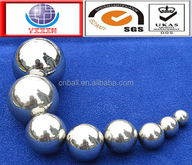 High quality 3.175mm 5.556mm 6.35mm 7.144mm SUS304 316 440C 420 stainless steel ball