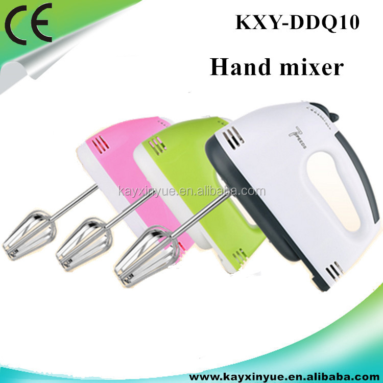 Portable handholder mini hand7 speed electric food blender mixer