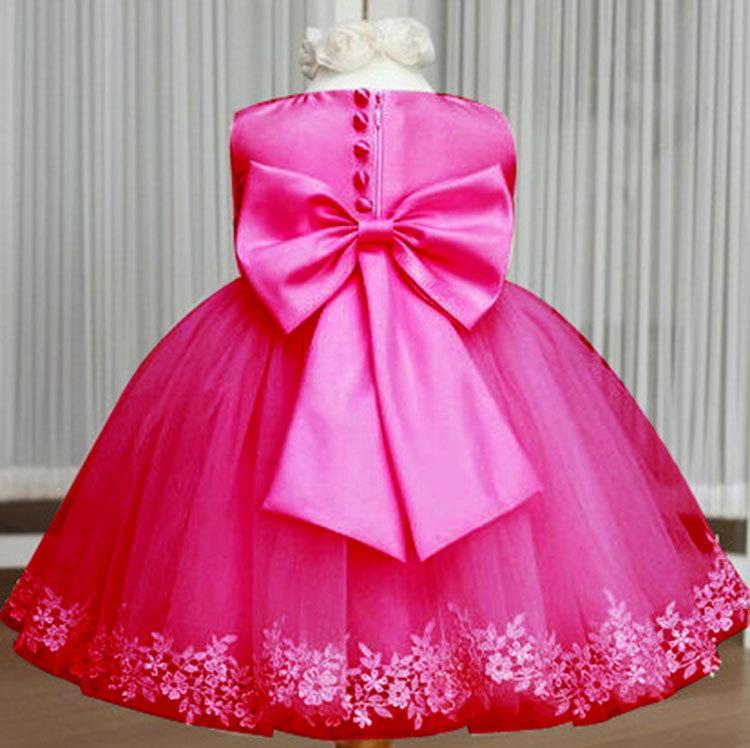 2015 nuevos niños del tutú puffy vestido de boda los niños 5 colores ...