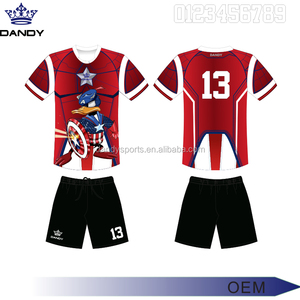 Wholesale thailand quality sublimation custom soccer jersey, customized top grade football jerseys ,sports jersey