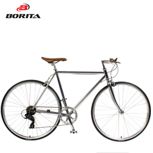 Italy Design vintage style 700c speed ultralight Cr-mo frame city Bike Classic touring bicycle