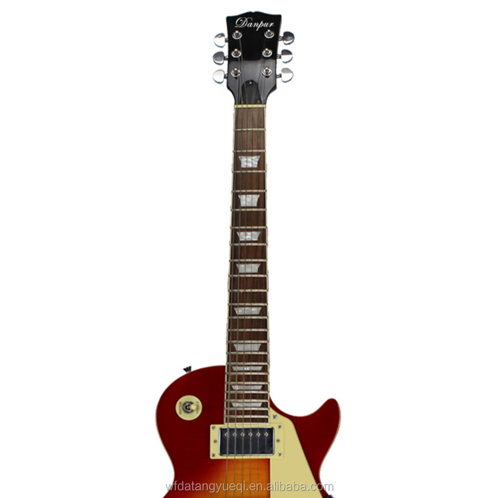 Standard Lp Flamed Maple Veneer Electric Guitar - Buy ...